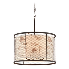 Troy Lighting Catch N Release Angler Bronze Pendant Light