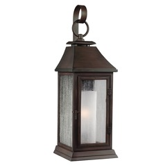 Feiss Lighting Shepherd Heritage Copper Outdoor Wall Light