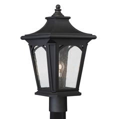 Quoizel Bedford Mystic Black Post Light