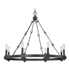 Savoy House Lighting Adria English Bronze Chandelier