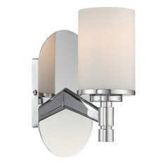 Lite Source Chrome Sconce