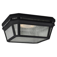Feiss Lighting Londontowne Black Close To Ceiling Light
