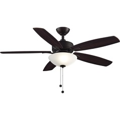 Fanimation Fans Aire Deluxe Dark Bronze LED Ceiling Fan with Light