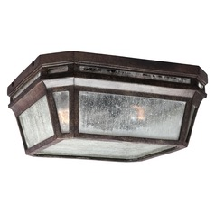 Feiss Lighting Londontowne Weathered Chestnut Close To Ceiling Light