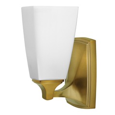 Hinkley Lighting Darby Brushed Caramel Sconce