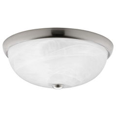 Progress Lighting Progress Lighting Random Brushed Nickel Flushmount Light P3803-09WB
