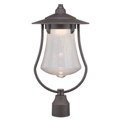 Designers Fountain Paxton Aged Bronze Patina LED Post Light