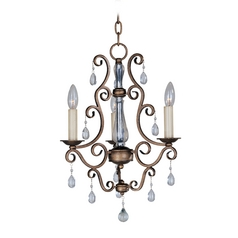 Maxim Lighting International Mini-Chandelier in Auburn Dusk Finish 12024AD