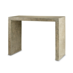 Sofa Table in Polished Concrete Finish