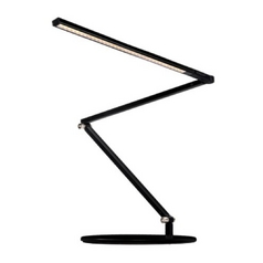 Koncept Lighting Black Adjustable LED Desk Lamp AR3200-W-MBK-DSK