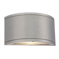 WAC Lighting Tube Brushed Aluminum LED Outdoor Wall Light
