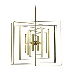 Dimond Synchrony Gold Plated Pendant Light