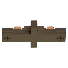 Juno Trac-Lites Small Bronze Straight Connector