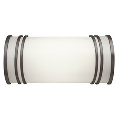 Olde Bronze Bathroom Light - Vertical or Horizontal Mounting