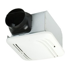 Craftmade Lighting Fresh Air Series Designer White Exhaust Fan Only