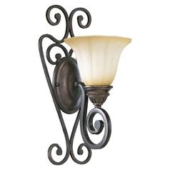 Quorum Lighting Summerset Toasted Sienna Sconce