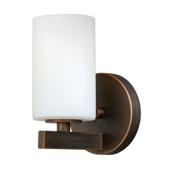 Glendale Sienna Bronze Sconce by Vaxcel Lighting
