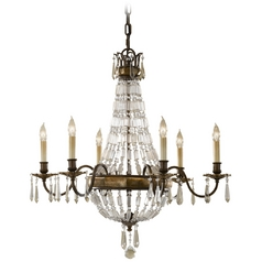 Chandelier in Oxidized Bronze/british Bronze Finish