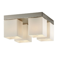 Four-Light Ceiling Light with Downlights