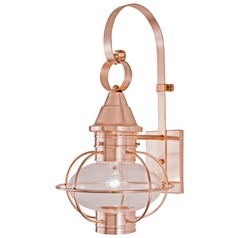 Norwell Lighting Vidalia Onion Sienna Outdoor Wall Light