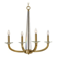 Hinkley Ascher 4-Light Chandelier in Brushed Caramel