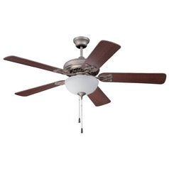 Ellington Majestic Athenian Obol Ceiling Fan with Light