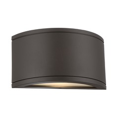 WAC Lighting Tube Bronze LED Outdoor Wall Light