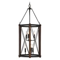 Quoizel Baron Marcado Black Pendant Light
