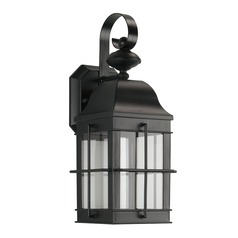 Sea Gull LED Wall Lanterns Black LED Outdoor Wall Light