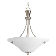 Progress Lighting Cantata Brushed Nickel Pendant Light