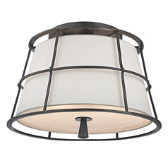 Hudson Valley Lighting Savona Old Bronze Semi-Flushmount Light
