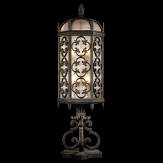 Fine Art Lamps Costa Del Sol Marbella Wrought Iron Post Lighting