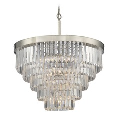 Savoy House Lighting Tierney Polished Nickel Pendant Light