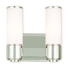 Livex Lighting Weston Polished Nickel Bathroom Light