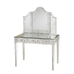 Currey and Company Lighting Gilda Vanity Arched 36-Inch Mirror 1300