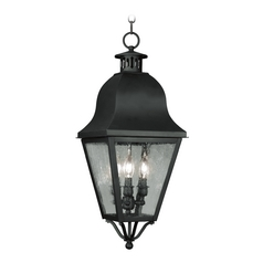 Livex Lighting Amwell Black Outdoor Hanging Light