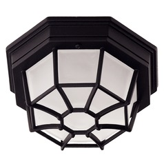 Savoy House Black Close To Ceiling Light