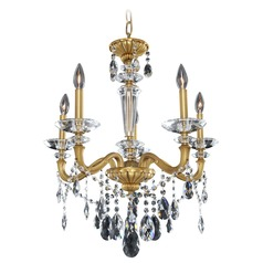 Jolivet 5 Light Crystal Chandelier