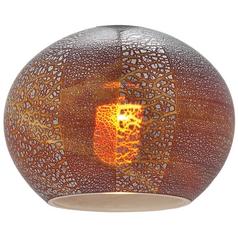 Safari Italian Bowl / Dome Art Glass Shade