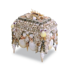 Currey and Company Lighting Boardwalk Natural Shell Box