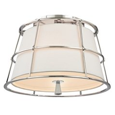 Hudson Valley Lighting Savona Polished Nickel Semi-Flushmount Light
