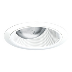 Juno Lighting Group Adjustable Tapered Baffle for 6-Inch Recessed Housings 264W-WH