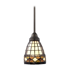Design Classics Lighting Tiffany Mini-Pendant 1618 TB