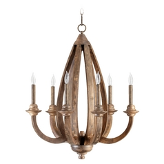 Quorum Lighting Telluride Early American Chandelier