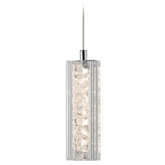 Elan Lighting Neruda Chrome LED Mini-Pendant Light