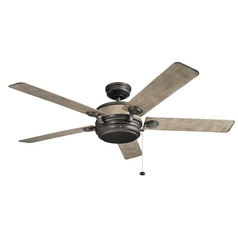 60-Inch 5 Blade  Ceiling Fan Anvil Iron by Kichler Lighting