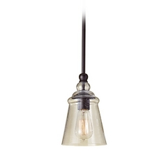 Mini-Pendant Light with Clear Glass