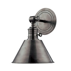 Sconce Wall Light in Antique Nickel Finish