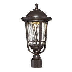 Designers Fountain Westbrooke Aged Bronze Patina LED Post Light