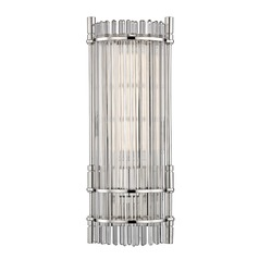 Hudson Valley Lighting Grant Polished Nickel LED Sconce